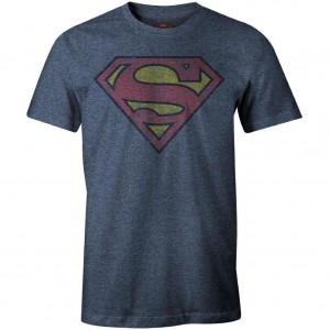 Tshirt DC Comics - Superman Destroy Vintage
