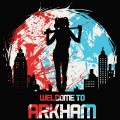 Tshirt DC Comics - Harley Quinn - Welcome to Arkham