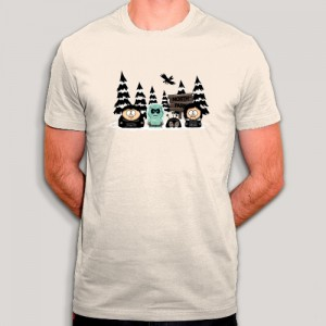 T-shirt - South Park vs. North Park