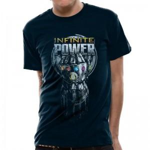 "T-shirt Avengers ""Thanos Infinite Power"""