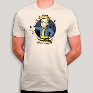 T-shirt - Fallout ou Burnout