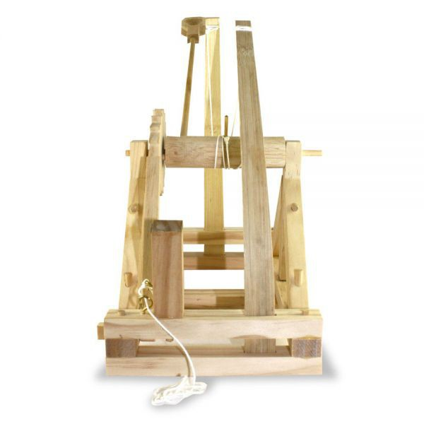 Catapulte de bureau da vinci construire - Construire bureau ...