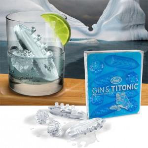 Le bac à glaçons Titanic & Iceberg