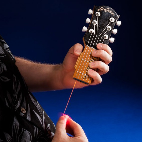 La véritable air guitare laser