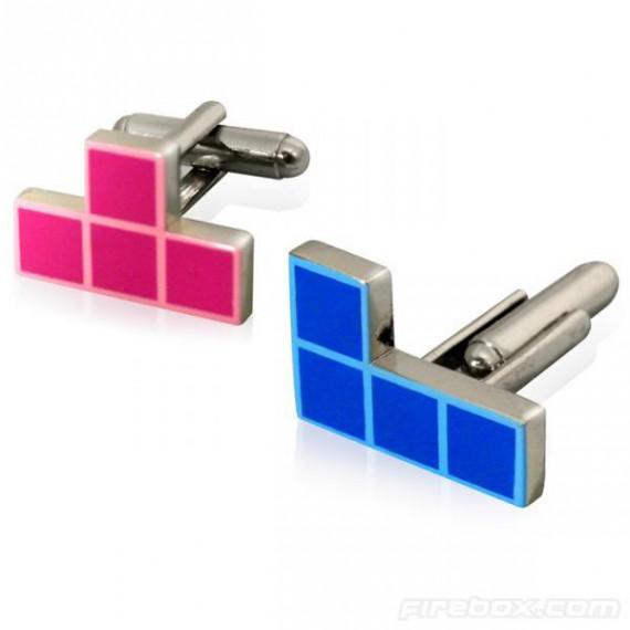 Bouton de manchette Tetris
