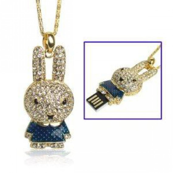 bijou collier pendentif cl u00e9 usb