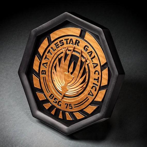 Sous-verre Battlestar Galactica (x4)