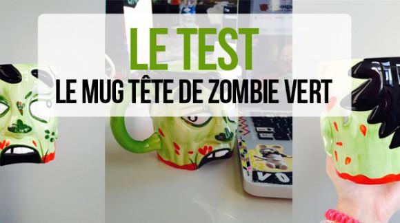 J'ai testé... Le mug tête de zombie vert