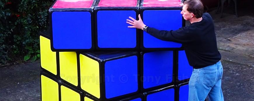 Un rubik 39 s cube g ant et fonctionnel pigsou mag - Rubik s cube geant ...
