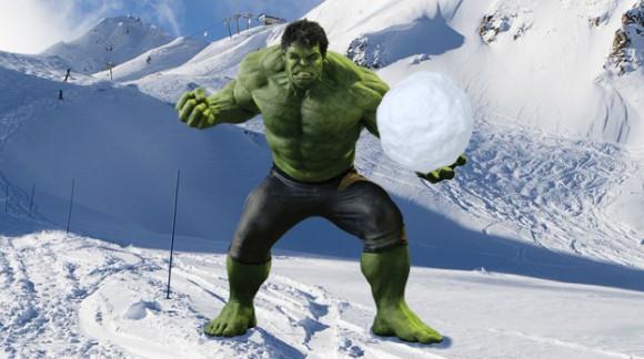 Vous allez croiser Hulk sur les pistes cet hiver