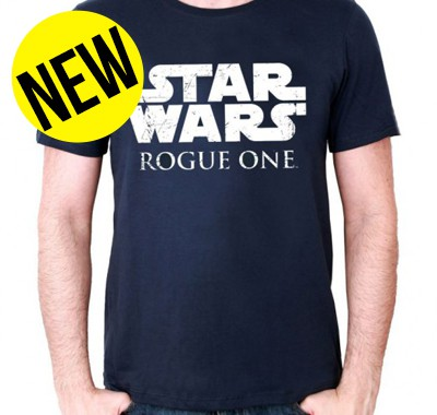 T-shirt homme Star Wars Rogue One Logo