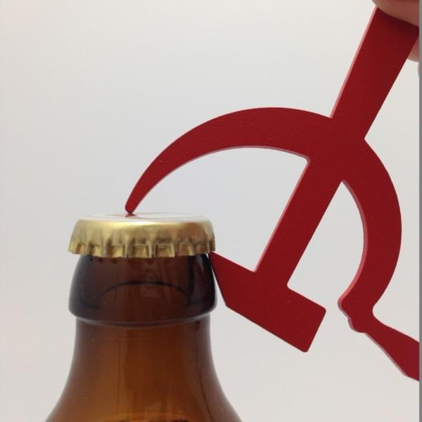 Décapsuleur karl Marx communiste