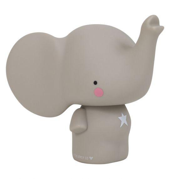 tirelire éléphant gris