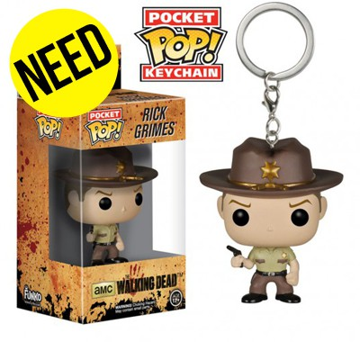 Porte-clés Funko POP! The Walking Dead Rick Grimes