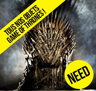 Game of Thrones : nos les objets de Comment Se Ruiner