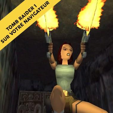 Rejouez au tout premier Tomb Raider sur votre navigateur