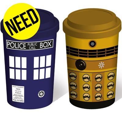 Mug de voyage Doctor Who