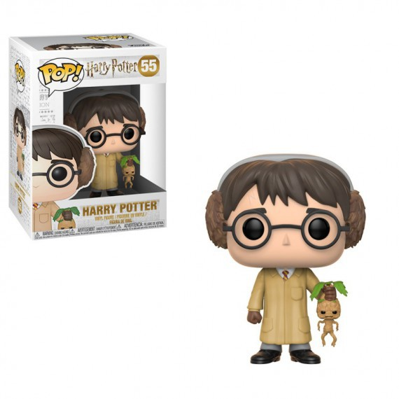 Figurine pop Harry Potter et la mandragore