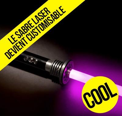 Le sabre laser customisable arrive bientôt