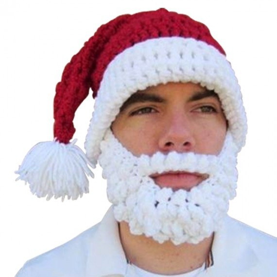 Bonnet barbe déguisement de père noel